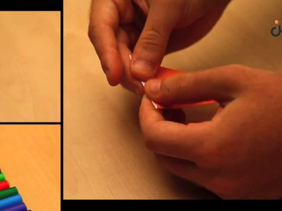 How to make origami carrot