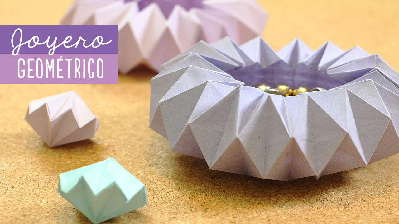 Joyero de origami - decora muy fácil | Craftingeek
