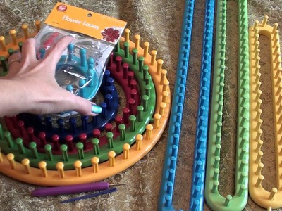 Knifty Knitter Looms and Boye Loom Tools