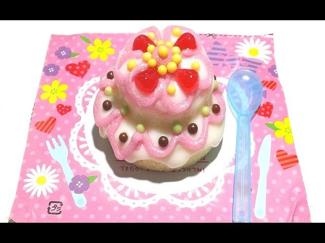 Kracie Happy Kitchen Cake DIY Candy Kit