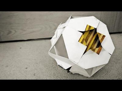 Kusudama Origami ball - Diana Variation