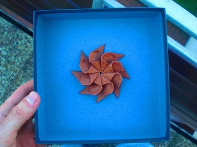 Let's fold an Origami Happy-flower-star (by Alexander Kurth) Tutorial