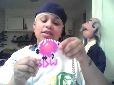 Make a Perler Bead Necklace