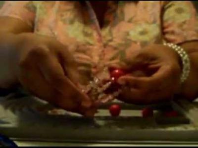 Make Homemade Jewelry, Pink Beaded Princess Bump Bracelet