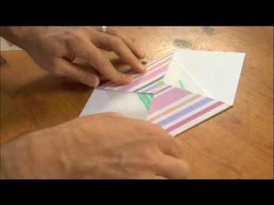Make Your Own Envelope Using Scrapbook Paper