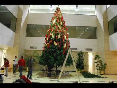 Making off árbol gigante navidad 2008