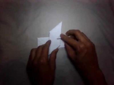 Manualidades: cómo hacer un shuriken de papel - cómo hacer una estrella ninja de origami
