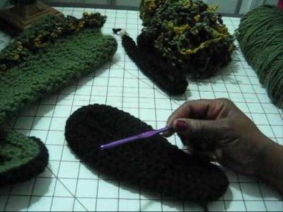 Most Voted Holiday Project Crochet Boots pt 1