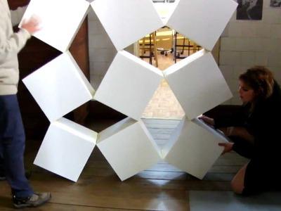 Moving Cubes Origami 1º R Cenografia