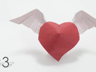 Origami Angel Heart (simple) - Trái tim thiên sứ (Hoàng Tiến Quyết)