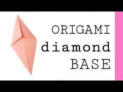 Origami Diamond Base