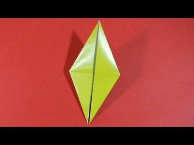 Origami - How to fold a Bird Base