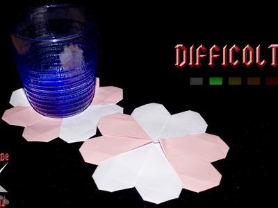 [ORIGAMI ITA] Sottobicchiere Cuore (Francis Ow) || Origami Decorativi.Utili.San Valentino