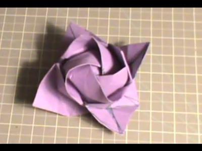 Origami Rose Tutorial - Kawasaki Rose