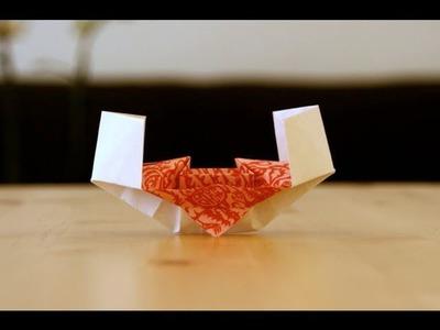 Origami tutorial - Chinese junk