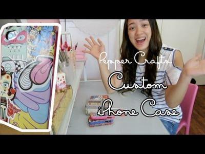 Pepper Crafts: Custom iPhone Case Tutorial
