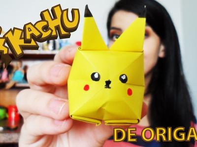 Pikachu de Origami