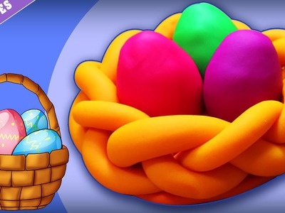 Play Doh Eggs | Easter DIY Arts & Crafts for Kids! Fun Easter for Children |