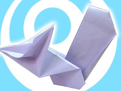 Printing Paper Origami Squirrel Tutorial (Origamite)