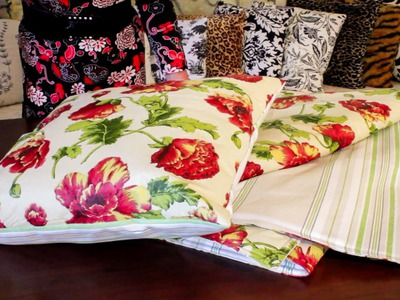 Sewing Tutorial: How to Make a Picnic Blanket and Cushion