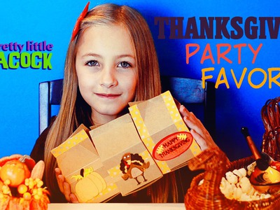 Thanksgiving Craft Ideas for Kids Easy Turkey Pumpkin Party Favors HD - PLP