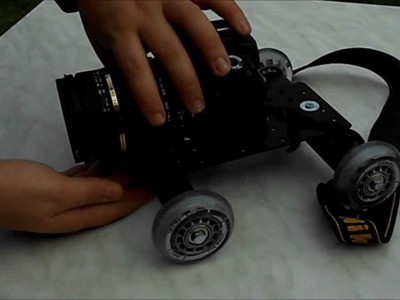 Tischdolly Tutorial Teil I [ diy mini camera dolly]