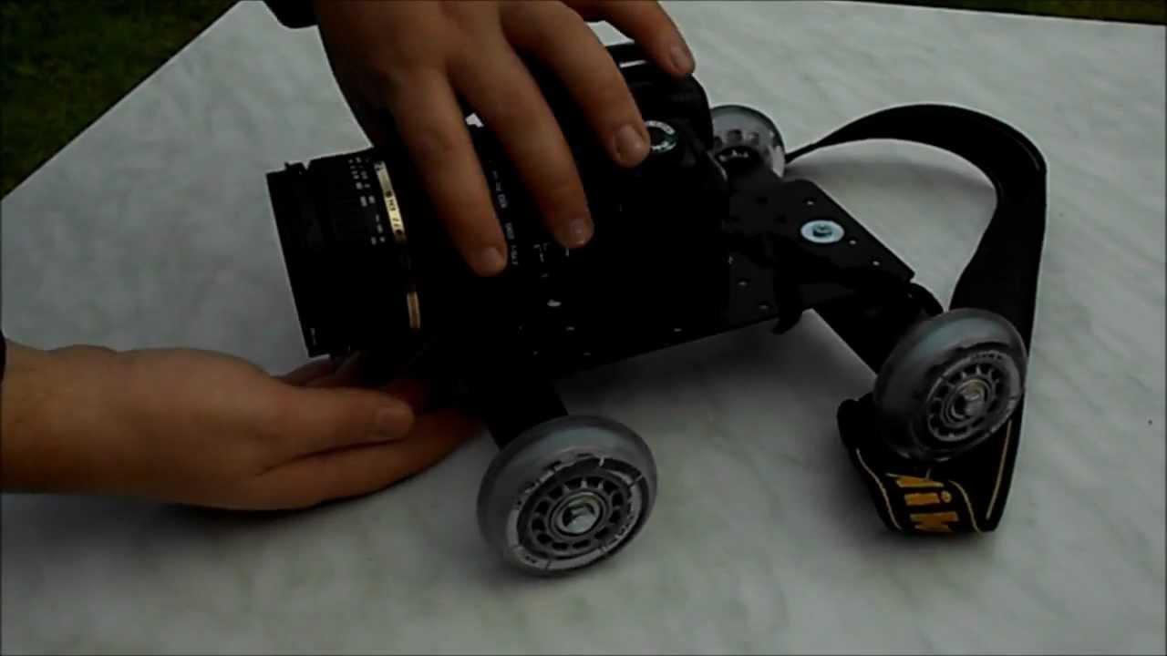 Tischdolly Tutorial Teil I [ diy mini camera dolly]