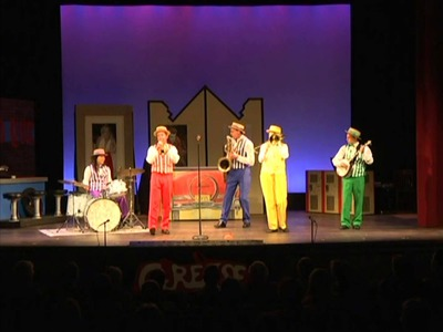USA tour Dixieland Crackerjacks 2012 part 3. Changes Made with drums solo by Lielian