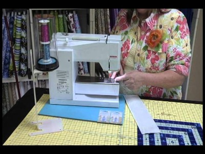 Using the SND Foot as a Topstitching and Double Needle Topstitching Foot