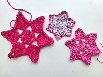 "Advent Calendar * December 23, 2012 * Crochet Star ""Adele"""