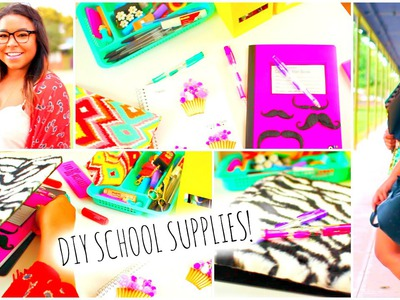 Back to school 2014: DIY School Supplies!