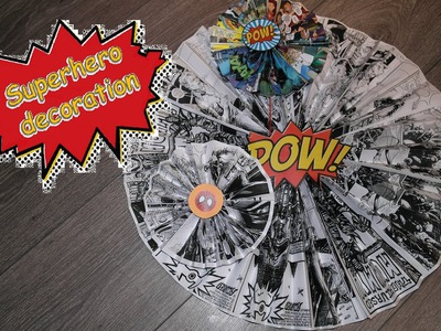Birthday party ideas: Create your own superhero party! DIY Kindergeburtstag Deko