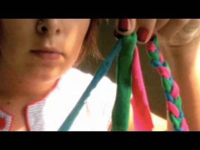 Braid Headband, Tracy's Video, Threadbanger Projects
