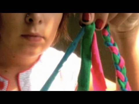Braid Headband, Tracy's Video, Threadbanger Projects