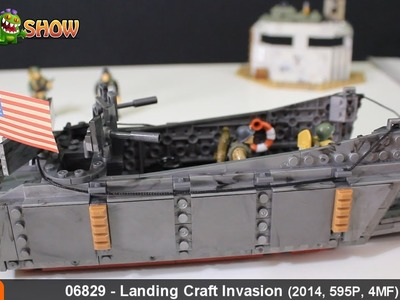 Call of Duty Mega Bloks Landing Craft Invasion Review, Set 06829