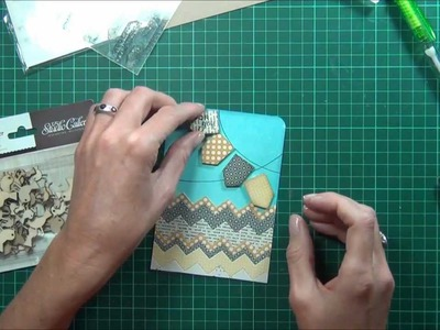 Chevrons & Banners?  It's a tutorial for Scrapbook Boutique!