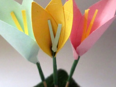 Create a Pretty Toothpick Paper Flower - DIY Crafts - Guidecentral