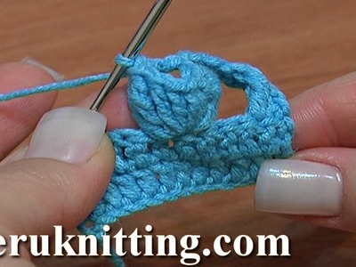 Crochet Popcorn Stitch Tutorial 11 Part 2 of 5 Popcorn Made of Different Tall Stitches