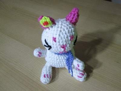 D.I.Y TUTO CROCHET CHAT AMIGURUMI AVEC PATRON (petit animaux au crochet)