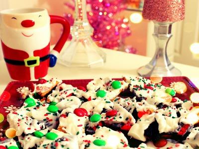 DIY Christmas Treats - Christmas Cookie Bark