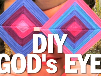 DIY GOD's EYE - Camp Threadbanger  (Patch Contest Closed)