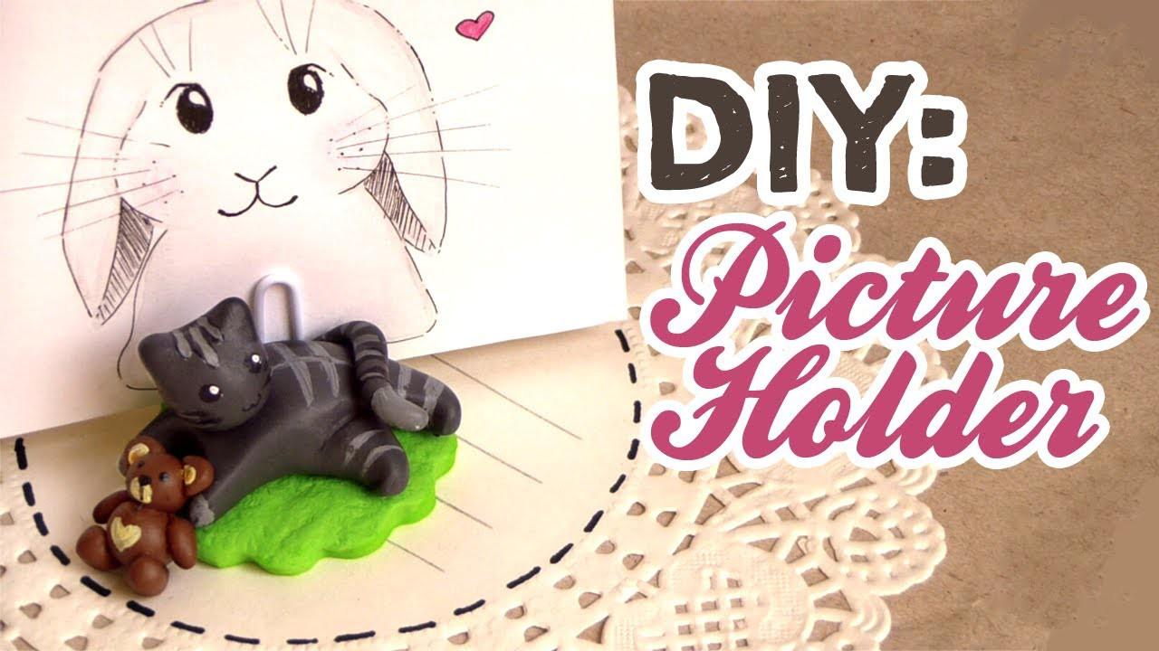 DIY: Picture or Memo Holder