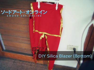 DIY Silica Cosplay: Blazer (Bottom) Tutorial
