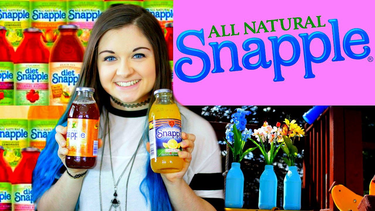 DIY Snapple Drinks & Ways to Reuse the Bottles Creatively | xxmakeupiscoolxx