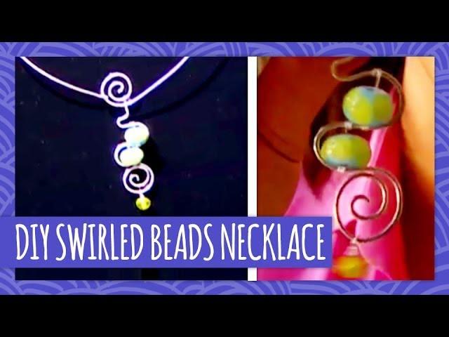 DIY Swirled Beads Necklace - HGTV Handmade