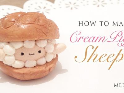 DIY The Cutest Cream Puff Sheep - Easy Clay Tutorial