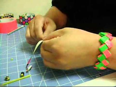 Duck Tape Bead Tutorial