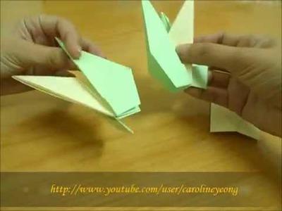 【CYS教程】敬神折纸~莲花(组合)の三:身【组合】二(Origami~Lotus)