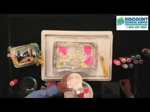 Free Preschool Arts & Crafts, Slick Surfaces Art with Biocolor from Discount School Supply