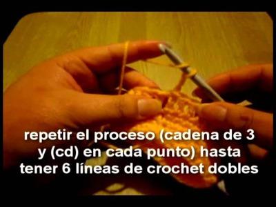 Guantes sin dedos (crochet)